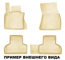 Nor-Plast Коврики резиновые Ssang Yong Rexton W 2012- БЕЖЕВЫЕ