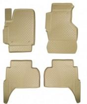 Nor-Plast Коврики резиновые VW Amarok бежевые