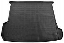 Коврик в багажник Audi Q7 2015- 7 мест (сложенный 3 ряд) Nor-Plast