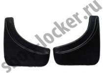 L.Locker Брызговики Volkswagen Touareg 2014- задние к-т