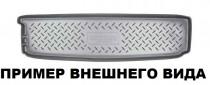 Коврик в багажник Chevrolet Captiva 2011- 7 мест(разложенный третий ряд) Nor-Plast