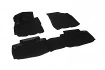 L.Locker Глубокие коврики в салон ЗАЗ Forza/Chery Bonus A13  полиуретановые