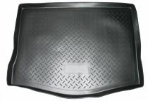 Коврик в багажник Citroen Berlingo/Peugeot Partner 2008- пасс. 5 дв. резино-пласт. Nor-Plast