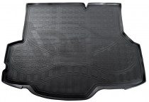 Коврик в багажник Ford Fiesta 2013- sedan Nor-Plast