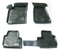 Глубокие коврики в салон Chevrolet Niva 2002-2009  полиуретановые L.Locker