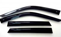 Ветровики Citroen C1/Peugeot 107 2005-2014 5 дверей Cobra Tuning