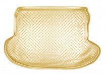 Коврик в багажник Infiniti FX (S51) 2008-2012 БЕЖЕВЫЙ  Nor-Plast