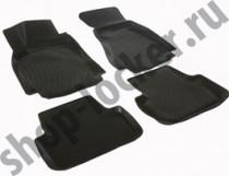 Глубокие коврики в салон Audi A4 (B7) sedan 2004-2008  полиуретановые L.Locker