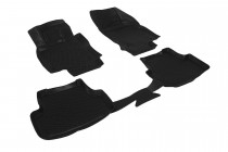 Глубокие коврики в салон Audi A3 (8V) sedan 2013-  полиуретановые L.Locker