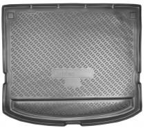 Коврик в багажник Kia Carens 2006-2012 резино-пластиковый Nor-Plast