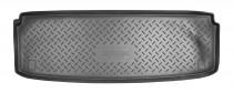 Коврик в багажник Kia Mohave 7 мест резино-пластиковый Nor-Plast