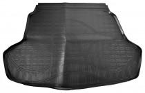 Коврик в багажник Kia Optima 2015- резино-пластиковый Nor-Plast