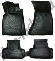 Глубокие коврики в салон Audi Q5 2015- полиуретановые L.Locker