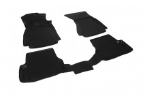 Глубокие коврики в салон Audi A6 2011-2014  полиуретановые L.Locker
