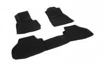 Глубокие коврики в салон BMW X3 (F25) 2010-   полиуретановые L.Locker