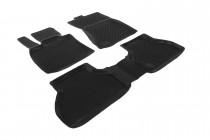 Глубокие коврики в салон BMW X5 (E70) 2006-2015   полиуретановые L.Locker
