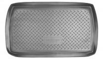 Коврик в багажник Mitsubishi Grandis резино-пластиковый Nor-Plast