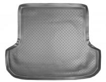 Коврик в багажник Mitsubishi Pajero Sport 1996-2008 резино-пластиковый Nor-Plast