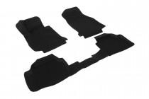 Глубокие коврики в салон BMW 1 series (F20) полиуретановые L.Locker
