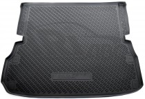 Коврик в багажник Nissan Pathfinder 2012- сложенный 3-й ряд Nor-Plast