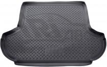 Коврик в багажник Mitsubishi Outlander XL без сабвуфера Nor-Plast