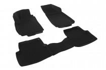 Глубокие коврики в салон Chevrolet Cobalt/Ravon R4  полиуретановые L.Locker