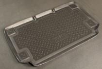 Коврик в багажник Ssang Yong Korando 2003-2006 резино-пластиковый Nor-Plast