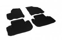 Глубокие коврики в салон Chevrolet Tacuma полиуретановые L.Locker
