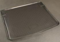 Коврик в багажник VW Caddy 2004-2015- правая дверь сдвижная, задняя подъемная Nor-Plast