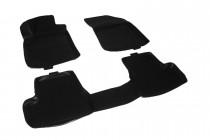 Глубокие коврики в салон Citroen C3 mk II hatchback 2009-  полиуретановые L.Locker