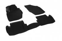 Глубокие коврики в салон Citroen C4 II sedan 2010- полиуретановые L.Locker