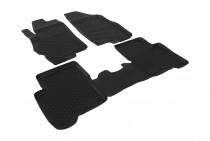 Глубокие коврики в салон Fiat Linea полиуретановые L.Locker