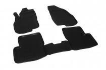 Глубокие коврики в салон Fiat Grande Punto полиуретановые L.Locker