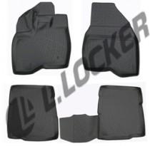 Глубокие коврики в салон Ford Explorer V  2010- полиуретановые L.Locker