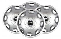 Колпаки R15 (модель 300) KIA SKS с логотипом
