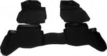 Глубокие коврики в салон Ford Ranger 2011- полиуретановые L.Locker