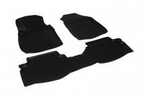 Глубокие коврики в салон Ford EcoSport полиуретановые L.Locker