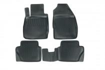Глубокие коврики в салон Ford Fiesta 2008-2013 полиуретановые L.Locker
