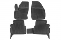 Глубокие коврики в салон Ford C-Max 2002-2010 полиуретановые L.Locker