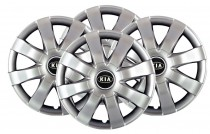 Колпаки R15 (модель 323) KIA SKS с логотипом
