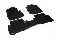 Глубокие коврики в салон Ford Tourneo Connect 2003-2013 полиуретановые L.Locker
