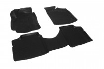 Глубокие коврики в салон Geely CK2 2009- полиуретановые L.Locker