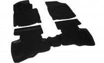 Глубокие коврики в салон Geely LC Cross полиуретановые L.Locker