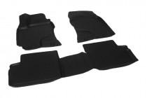 Глубокие коврики в салон Geely SC7 полиуретановые L.Locker