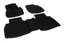 Глубокие коврики в салон Honda Civic 5D HB 2012- полиуретановые L.Locker