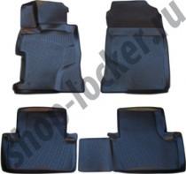 L.Locker Глубокие коврики в салон Honda Civic 4D SD 2012- полиуретановые