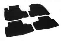 Глубокие коврики в салон Honda C-RV 2006-2012 полиуретановые L.Locker