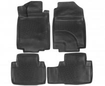 L.Locker Глубокие коврики в салон Honda C-RV 2012- полиуретановые