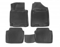 Глубокие коврики в салон Hyundai Elantra 2011- полиуретановые L.Locker