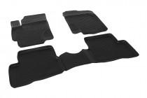 Глубокие коврики в салон Hyundai Accent 2006-2010 полиуретановые L.Locker